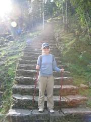 So many stairs... (rikkiandmatt) Tags: nepal annapurnabasecamp