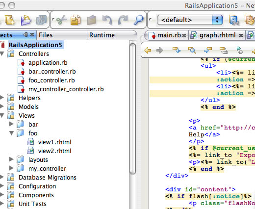 netbeans-rails-support
