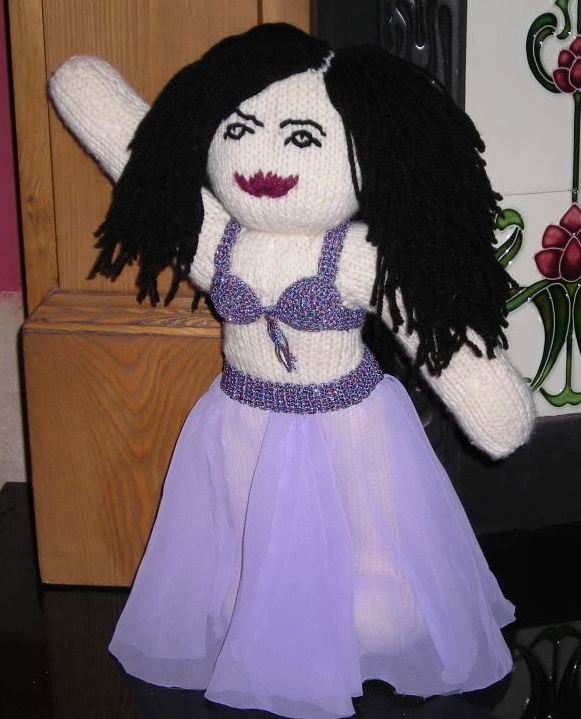 Bellydance doll finished