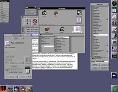 NeXTStep Interface