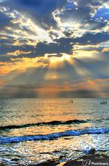 Moments of life .. (Dana__23) Tags: life friends sea sun love nature sunrise canon heart dana kuwait 2007 specnature impressedbeauty