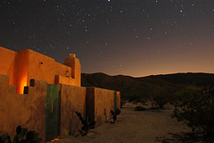 One Night in Anza Borrego (wmchu) Tags: california night desert nikond100 anzaborrego starry starrynight borregosprings itsongnikond100 itsonginvite itsongeternalnorthamerica borregovalleyinn