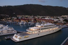 St. Thomas Giant Yacht