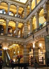 Inside Magna Plaza