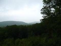 img 5735 (cshontz) Tags: mist mountains fog forest haze woods pennsylvania baldeagle overlook stateforest baldeaglestateforest