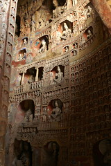 Grotto Carving (David Wilmot) Tags: china travel sculpture holiday statue sandstone asia buddhist carving grotto cave shanxi carvings datong yungangcaves yunganggrottoes