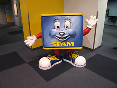 Say Hello to SPAMMY (Jim Frazier) Tags: road trip travel vacation signs tourism minnesota sign museum austin spam roadtrip 2006 tourists september american roadside roadsideattraction attraction spammuseum headon q2 toorganize thespammuseum jimfraziercom