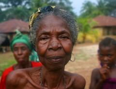 My favorite village elder (LindsayStark) Tags: africa travel portrait people women war sierraleone conflict elders humanrights humanitarian displaced idpcamp refugeecamp idps idp humanitarianaid emergencyrelief idpcamps waraffected