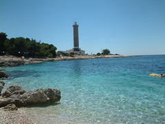 Veli Rat, svjetionik (Shakespeare's.Sister) Tags: sea lighthouse croatia hrvatska dalmacija mediterranian dugiotok velirat svjetionik