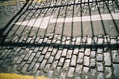 Cobbles (World of Oddy) Tags: road lomo lca cardiff lane arrow cobbles parklane cobbledstreet