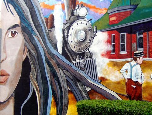 history of lufkin mural II
