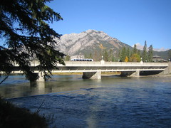 The Bow River and Cascade Mountain (cerealkiller) Tags: banff bowriver cascademountain
