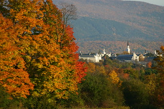 Middlebury College in mid-October