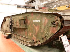 Mark V Tank, WW1, Female (helmut the horrible) Tags: tank ww1 tankmuseum bovington mkvii britishtank