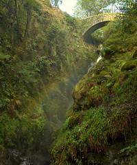 I can see a rainbow (~Glen B~) Tags: uk bridge england waterfall rainbow bravo nikond70 lakedistrict cumbria airaforce tamron28300mm instantfave ulswater satelliteportfolio