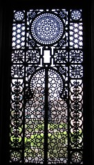 Al-Rifa'i Mosque Window (josiehen) Tags: light window glass iron geometry patterns egypt mosque cairo masjid alrifai lparch lpwindows