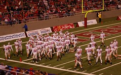 Wolfpack (Veee Man) Tags: red white sports field football lasvegas stadium nevada ncaa lobos unlv unm universityofnewmexico collegefootball universityofnevadalasvegas samboydstadium