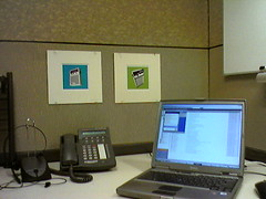 Office decor by Tubes (A-Wix) Tags: cameraphone samsungsght309 seantubridy msh110620 msh1106