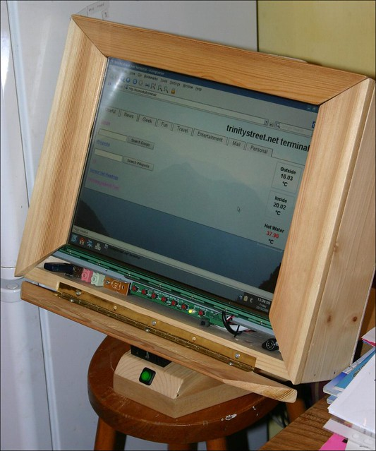 Wooden Touchscreen Terminal - further update