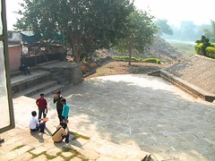 Mahavihara karate area