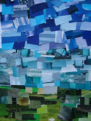 ocean (similarity) Tags: ocean blue sky color green art grass collage cutout turquoise