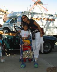 Mom and Kids (MrsPasky) Tags: 2006 cayucos