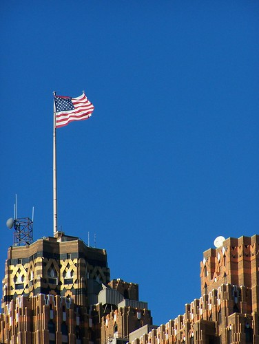 Guardian Building Flag by paulhitz