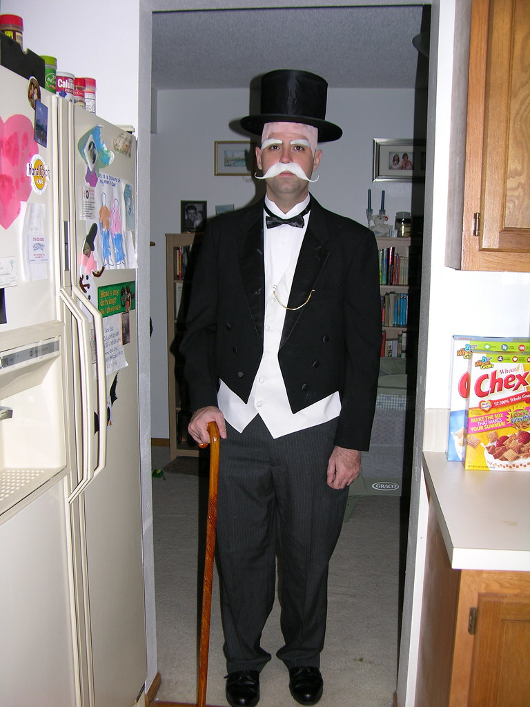 old moneybags templarion tags party halloween costume nikon ben 2006 iowa monopoly tuxedo