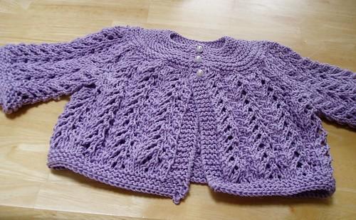 Ravelry Baby Sweater On Two Needles February Pattern By Elizabeth