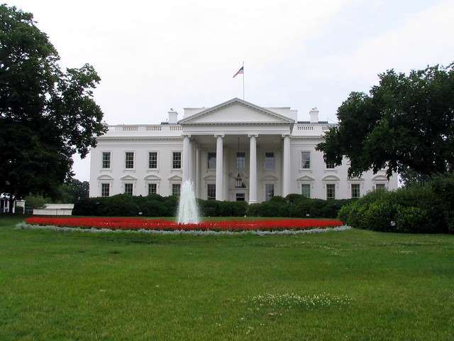 White House north side - Pennsylvania Ave