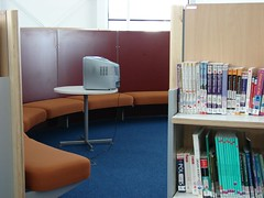 Seating Arrangements, Library and Learning Centre, UEL - by jisc_infonet