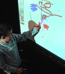 Interactive whiteboard.JPG by Sean O