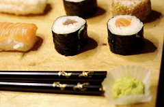 Sushi Take Away (Marchissimo) Tags: food sushi japanese good fast japanesefood takeaway wasabi makimono cucina nighiri