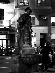 Barcelona (J.Salmoral) Tags: barcelona bw espaa blancoynegro fountain night blackwhite spain espanha fuente modernism artnouveau espagne modernismo spanien barcelone spagna spanje  barselona ispanya spanyolorszg  juanillooo   juansalmoral  panija