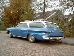 1963 Dodge Polara 880 station wagon (Davydutchy) Tags: dodge stationcar wagon classiccar friesland nijlân netherlands stationwagon copyrightdavydutchy thebiggestgroup dr5041