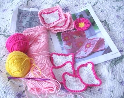Susie Can Stitch Hello Kitty Crochet