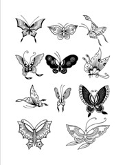 Chinese Butterfly Designs