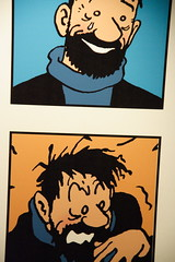captain haddock from the famous comic strip tintin