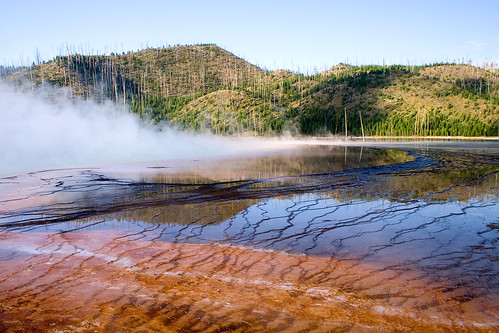 Grand Prismatic Spring in the Morning