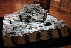 Piles of Cash