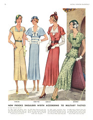 whither military tactics? (carbonated) Tags: 1932 vintage 1930s mine sewing patterns mccall julyaugust mccallfashionbimonthly