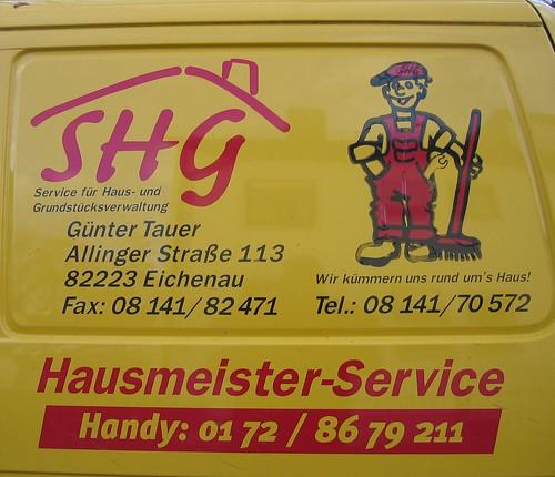 Hausmeister Service Tauer in der Allinger Strasse, 2006 by gumtau.
