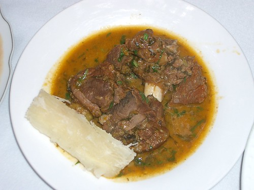 My main dish, part one..  @ El Cantaro in Lambayeque, Peru