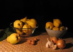 Bodegón con membrillos/Still life with quinces