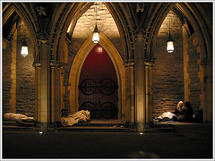 Cathdrale Christ Church Cathedral (lacasse) Tags: canada church university downtown christ montral cathedral qubec glise stecatherine cathedrale glise gliseduqubec architectureduqubec capture40