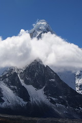 Ama Dablam across Chukhung Valley (Andreas' Photos) Tags: nepal khumbu amadablam chukhungri