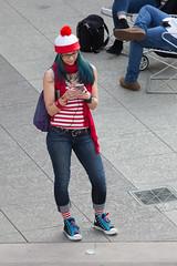 1612 Where's Waldo flashmob28 (nooccar) Tags: dtphx 1612 improvaz dec2016 nooccar cityscape devonchristopheradams whereswaldo contactmeforusage devoncadams dontstealart flashmob photobydevonchristopheradams