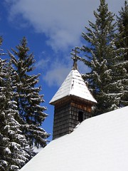 Winter at the Putzer Kreuz II (Rheinfire) Tags: blue schnee winter sky white mountain snow alps cold church kirche berge alpen alto sdtirol bozen kiss2 adige kiss3 kiss1 kiss4 kiss5