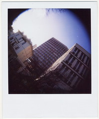 (gliesh) Tags: polaroid fisheye cheltenham 600film eagletower