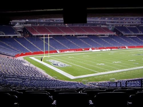 Gillette Stadium Postgame